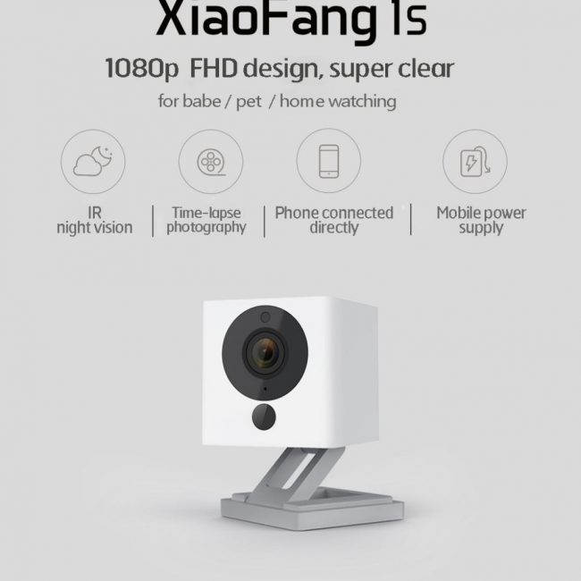 smart home devices xiaomi xiaofang night vision ip camera
