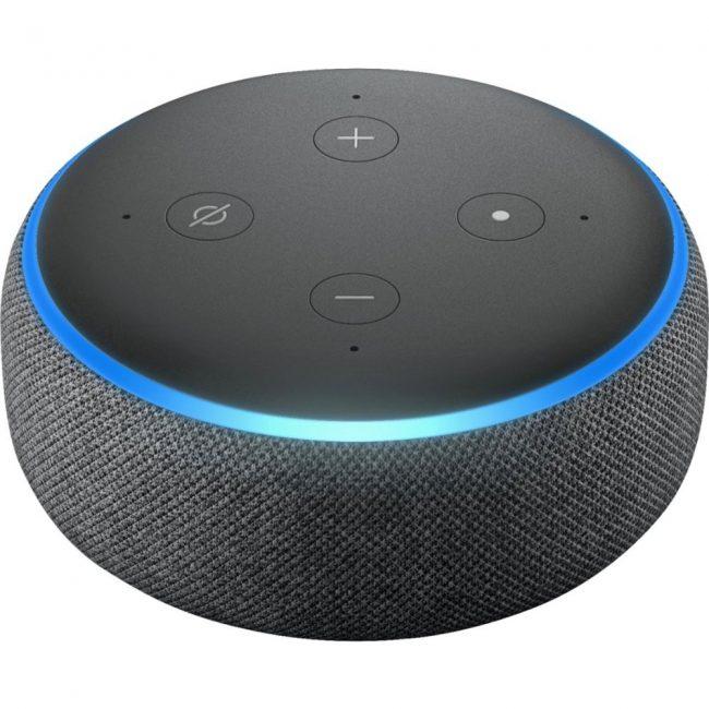 smart home devices amazon echo dot 3 gen