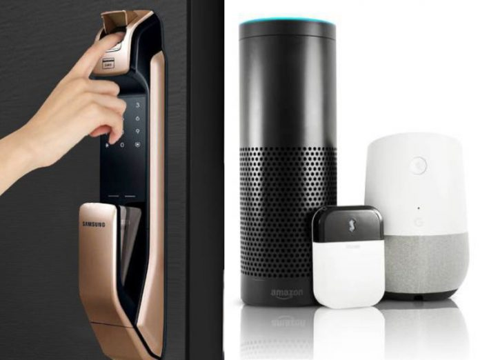 smart home devices singapore smart lock samsung amazon google assistant alexa