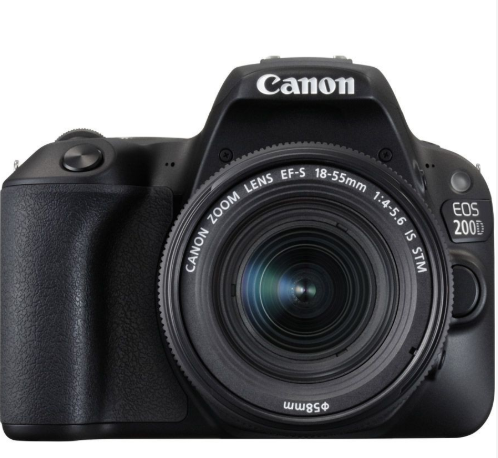 Canon 200D best DSLR camera for beginners