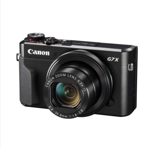 Canon Powershot G7X Mk II Best Compact Cameras For Beginners
