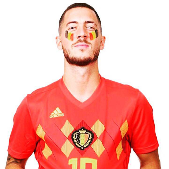 eden hazard World Cup 2018 best football players