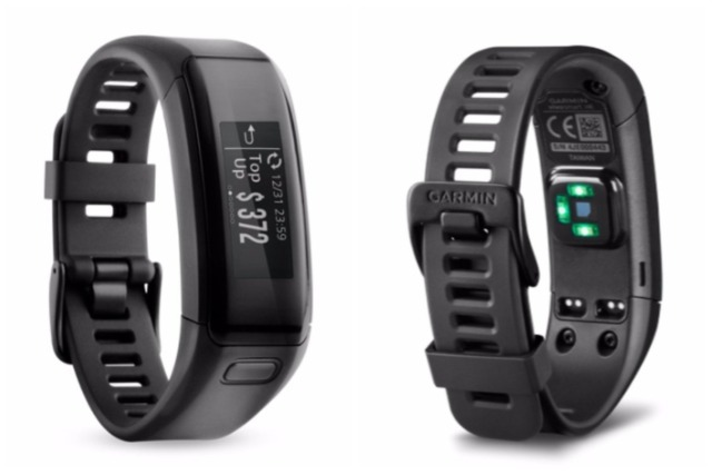 Garmin Vivosmart HR EZLink Best Fitness Tracker