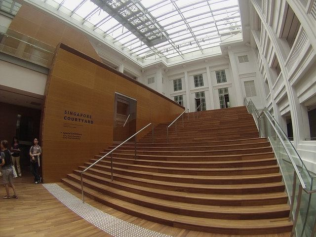 Instagram Worthy Places Singapore National Gallery Singapore Padang Atrium