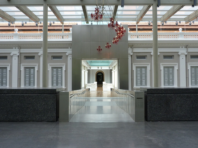 Instagram Worthy Places Singapore National Museum Singapore Top Floor