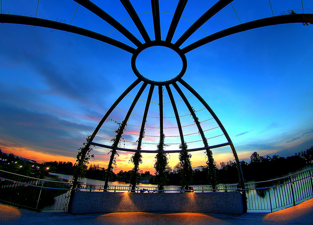 Instagram Worthy Places Singapore Punggol Waterway Park Jewel Bridge Sunset