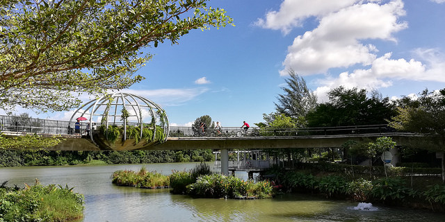 Instagram Worthy Places Singapore Punggol Waterway Park Jewel Bridge