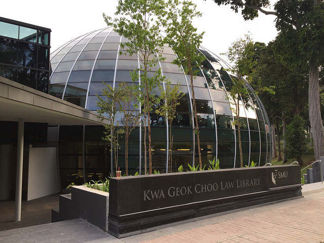 Instagram Worthy Places Singapore SMU Singapore Management University Kwa Geok Choo Law Library