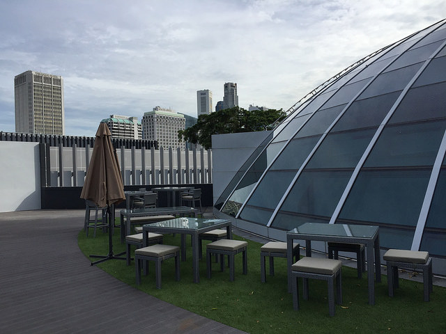 Instagram Worthy Places Singapore SMU Singapore Management University Law Building Rooftop Dome