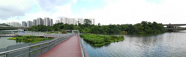 Instagram Worthy Places Singapore Sengkang Floating Wetland Panoramic