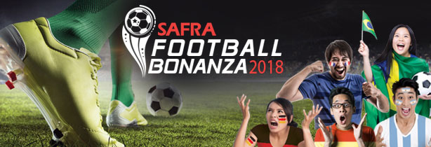 Safra football bonanza world cup in Singapore