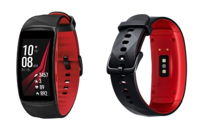 Samsung Gear Fit2 Pro Red Best Fitness Tracker