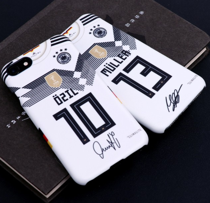 World Cup 2018 Germany Phone Cover Ozil Muller