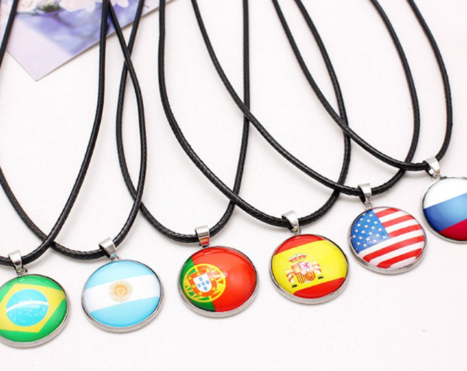 World Cup 2018 Necklaces