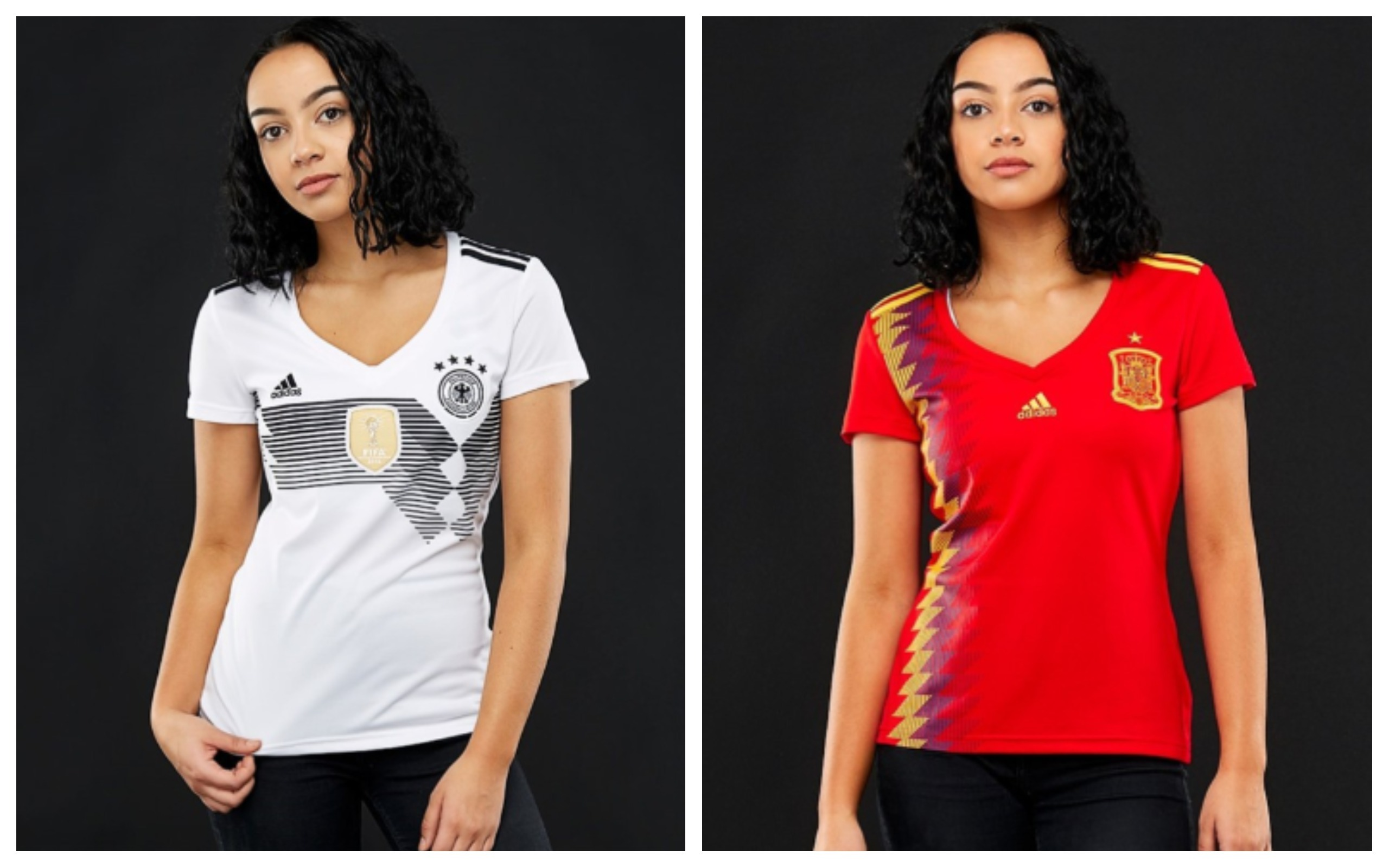 World Cup 2018 Women Soccer Jersey Germany Spain