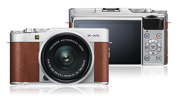 Fujifilm XA5 best mirrorless camera for beginners