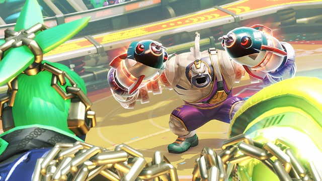 arms nintendo switch party games