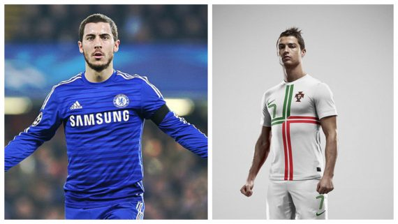 ronaldo hazard collage