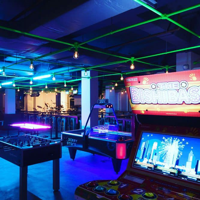 level up arcade in singapore