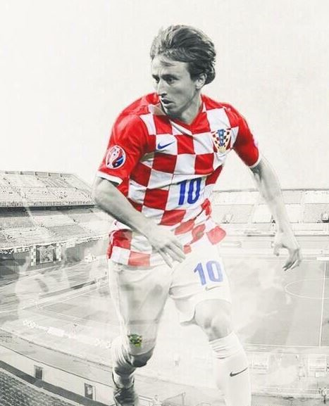 Luka Modric World Cup 2018 best football players