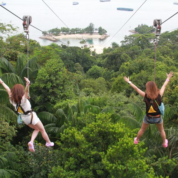 Things To Do In Sentosa Mega Adventure Park Sentosa Attraction