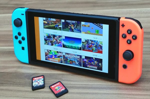 switch with nintendo switch party games