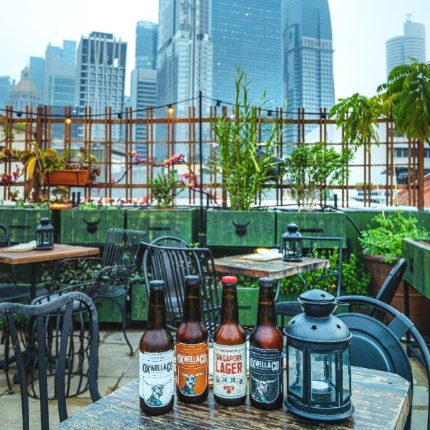 oxwell and co best rooftop bar singapore
