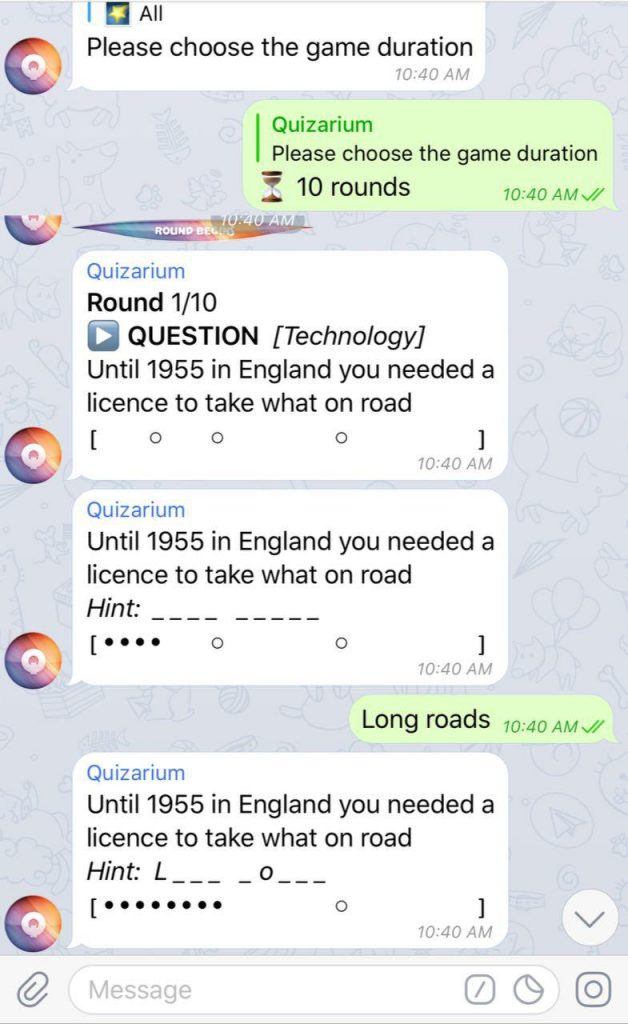7 Telegram Games & Bots You Should Add To Your Group Chats