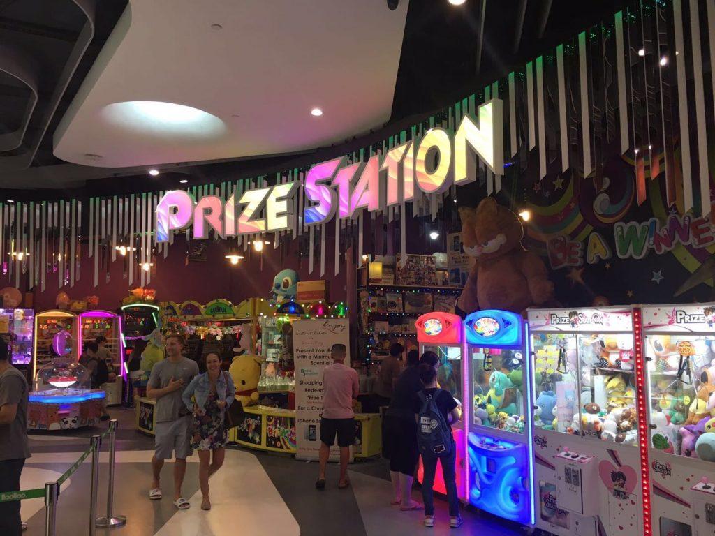 prize station arcade