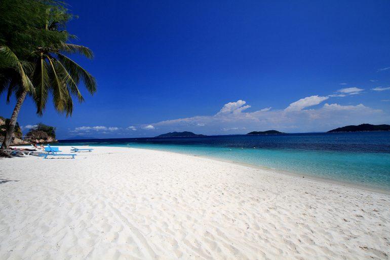 Malaysian island Rawa Island