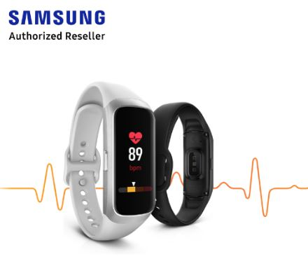 samsung galaxy fit best fitness trackers singapore