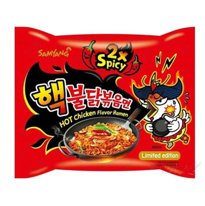 samyang nuclear noodles x2 spicy