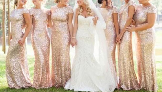sequin bridesmaids dresses singapore