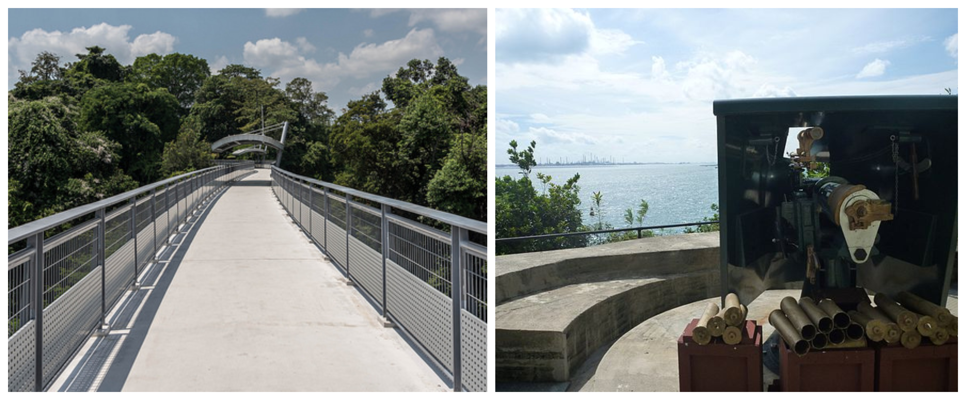 Things To Do In Sentosa Fort Siloso Skywalk Singapore
