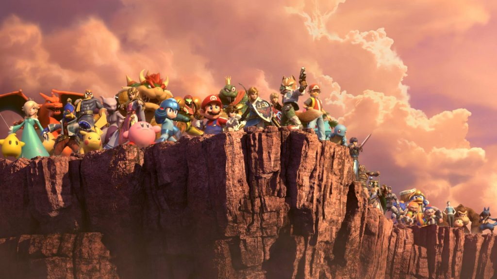 super smash bros ultimate nintendo switch party games