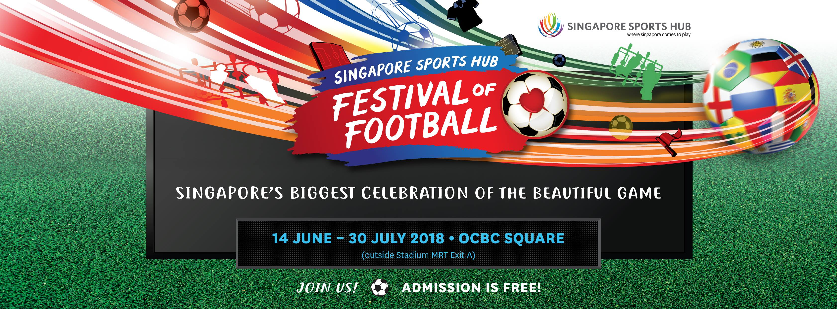 Sports Hub World Cup in Singapore