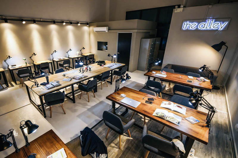 the a11ey coworking spaces in singapore