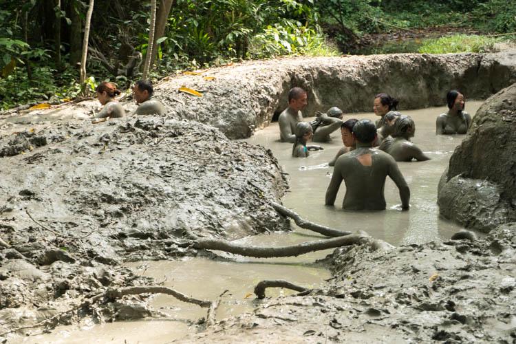 Tiga Island mudbath Malaysian island
