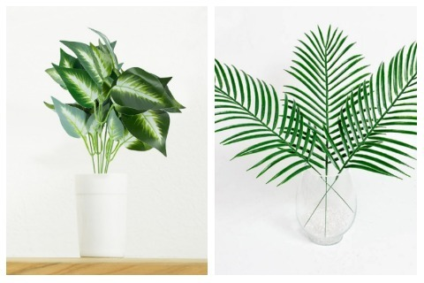 Room Decor Ideas Artificial Potted Plants