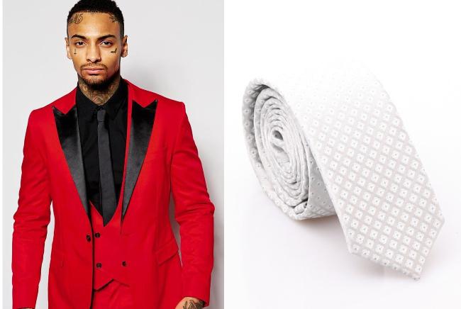 singapore national day ndp red white atas men suit tie blazer