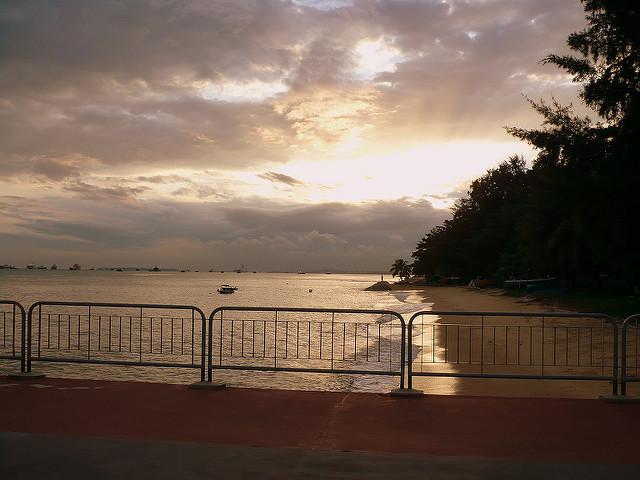 Bedok Jetty Sunset Singapore