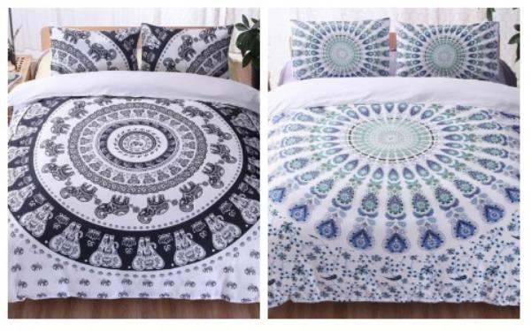 Room Decor Ideas Bohemian Bedsheets
