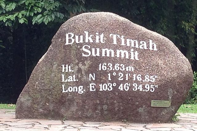 Hiking Trails Singapore Bukit Timah Rock