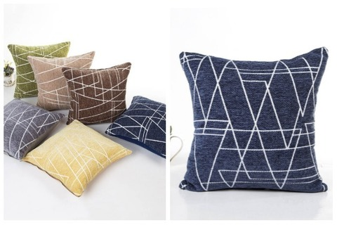 Room Decor Ideas Geometric Throw Pillow