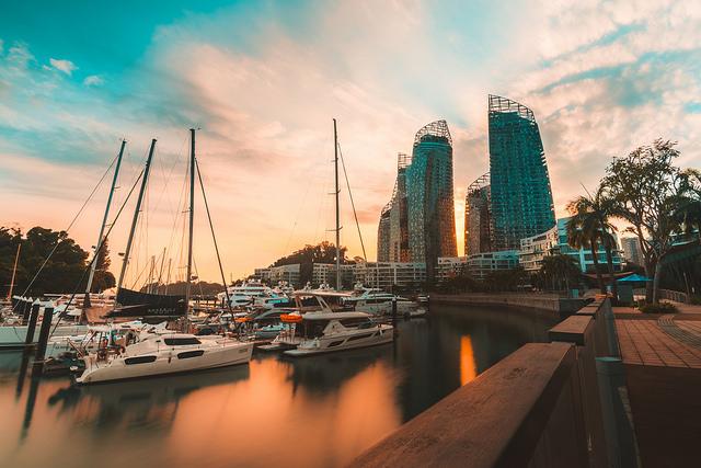 Keppel Bay Sunset Singapore