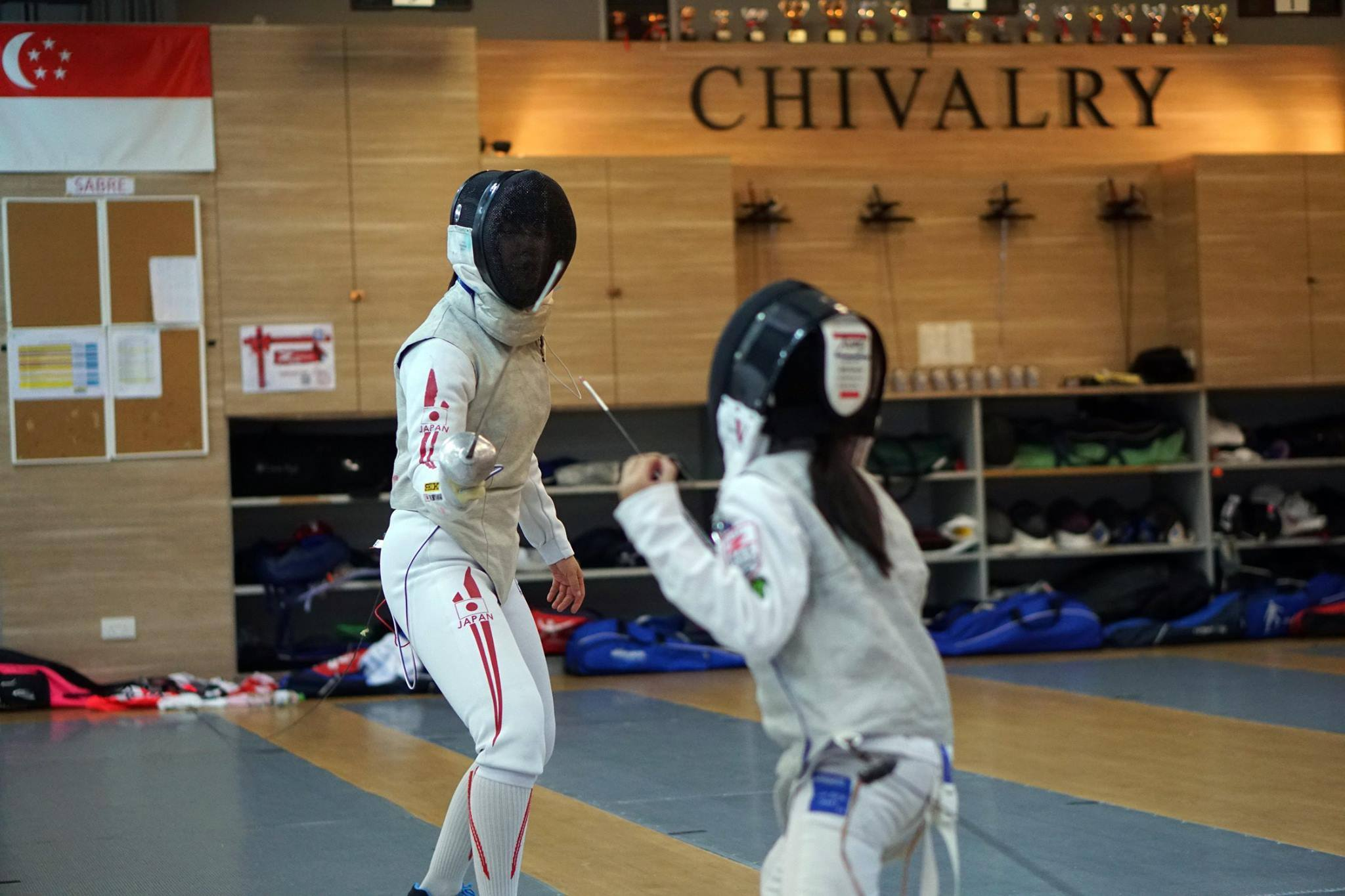 Life Skills Enrichment Class Fencing Kids Singapore