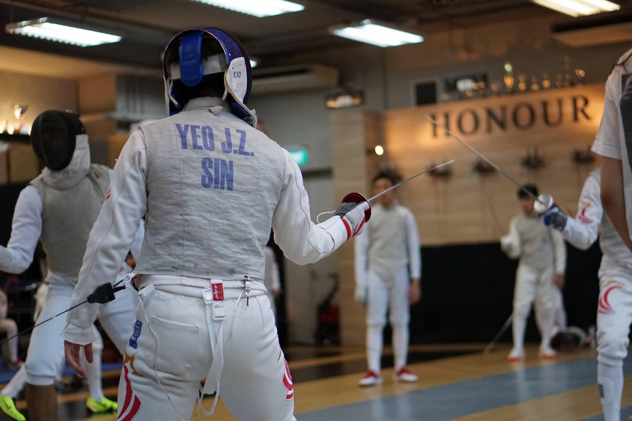 Life Skills Enrichment Class Fencing Singapore