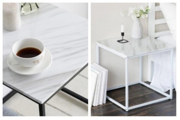 Room Decor Ideas Marble Table
