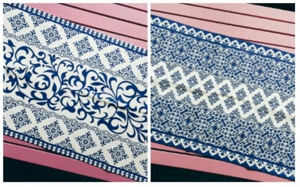 Room Decor Ideas Moroccan Table Runner Cloth