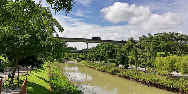 Hiking Trails Singapore Punggol Waterway Park